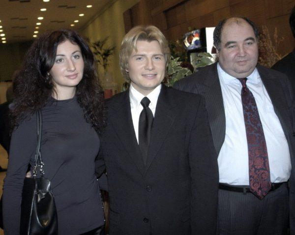 Николай Басков, Светлана, Борис Шпигель,