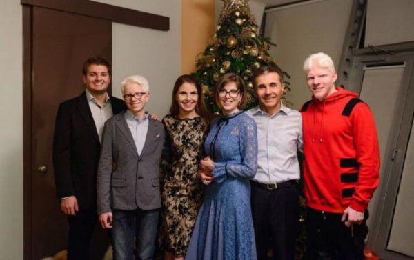 Семья Бидзины Иванишвили
