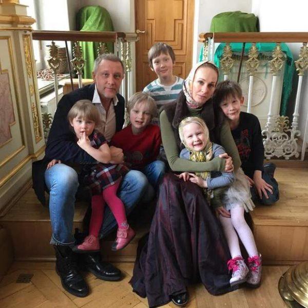 Сергей Горобченко с семьёй