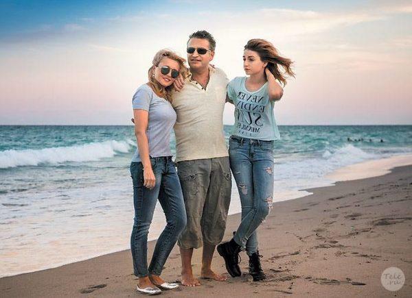 Анжелика Варум и Леонид Агутин с дочерью Елизаветой