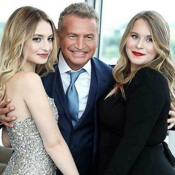 Леонид Агутин с дочками