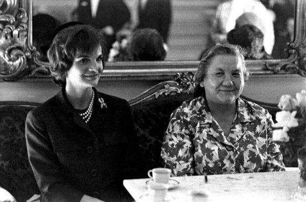 Нина Хрущёва и Жаклин Кеннеди