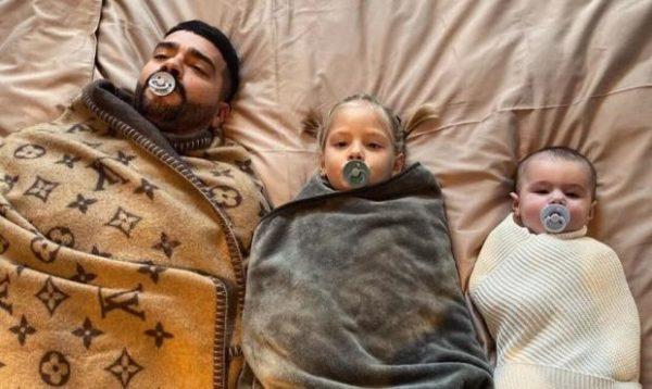 Тимати с дочкой и сыном