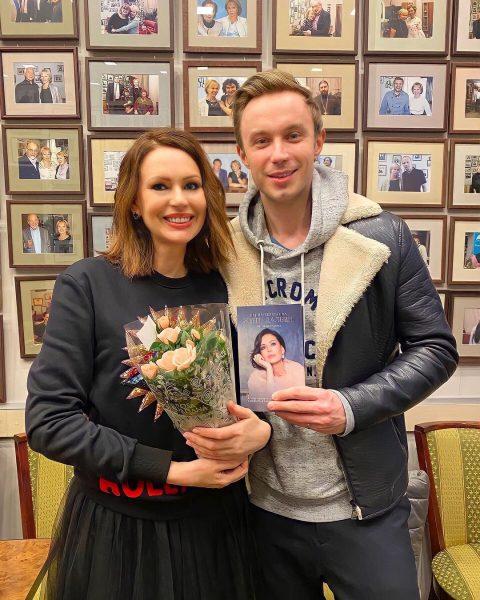 Ирина Безрукова на встрече с читателями