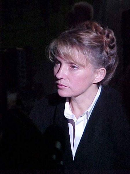 Юля Тимошенко в 2002 году. Фото strana.ua