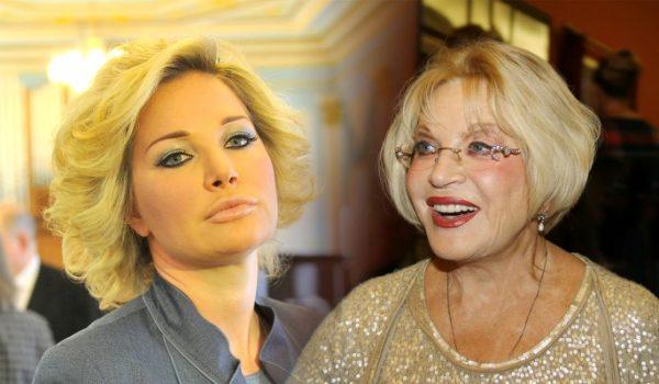 Мария Максакова с матерью