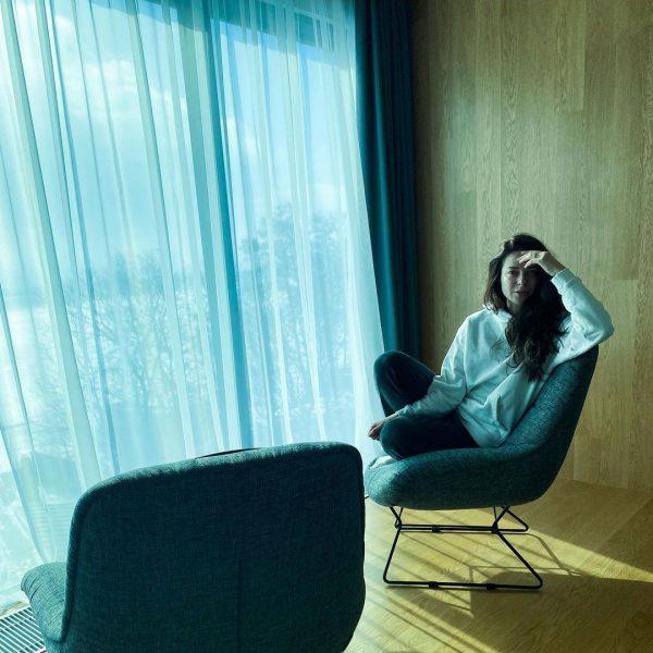 Марина Александрова в оздоровительной клинике