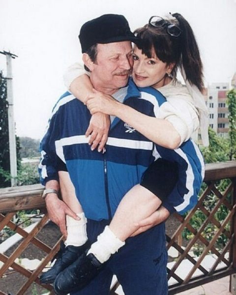 София Ротару с мужем Анатолием Евдокименко