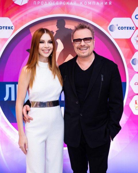 Наталья Подольская с Владимиром Пресняковым