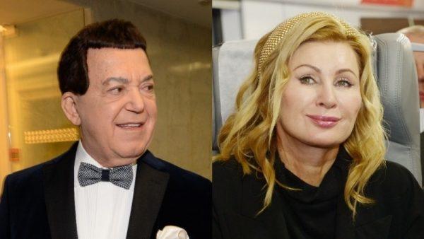 Иосиф Кобзон и Вика Цыганова