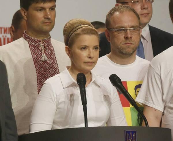 Юлия Тимошенко в 2014