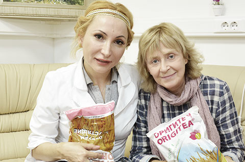 Регина Дубовицкая с дочерью