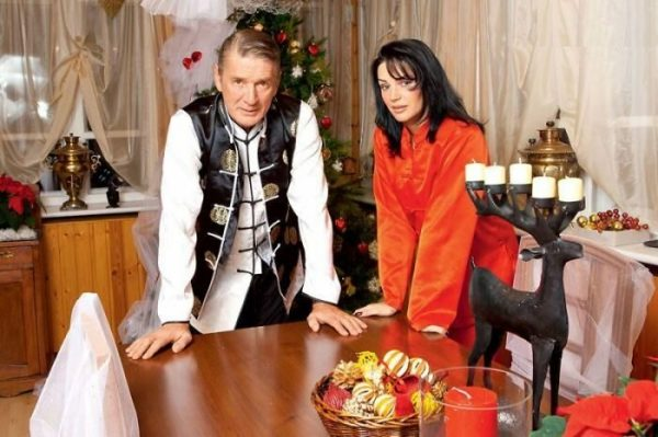 Юлия Мешина и Александр Абдулов