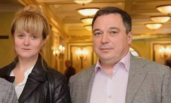 Анна Михалкова и Альберт Баков.