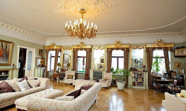 Гостиная Анастасии Мельниковой