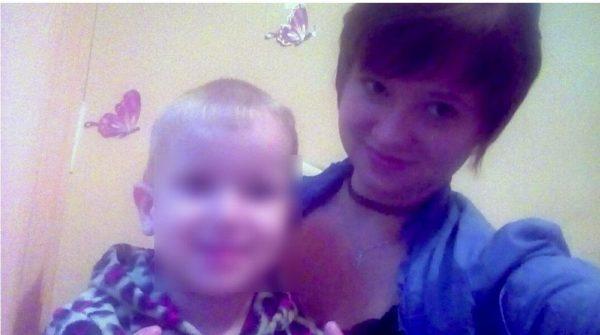 Люба Бессуднова с сыном