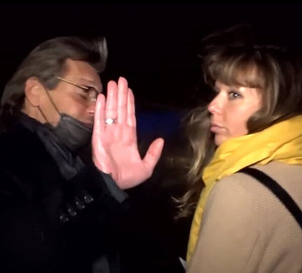 Александр Домогаров и Татьяна Степанова