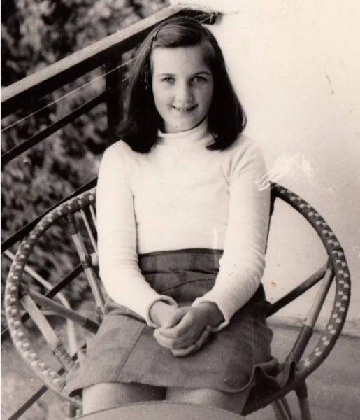 Валерия Левитина в детстве. Фото BarcroftMedia