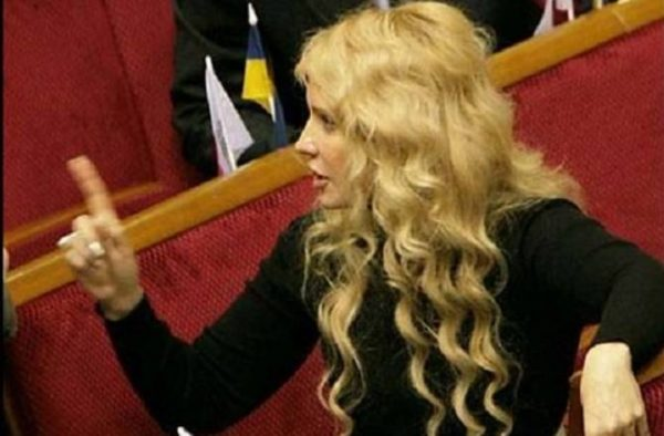 Юлия Тимошенко в 2007
