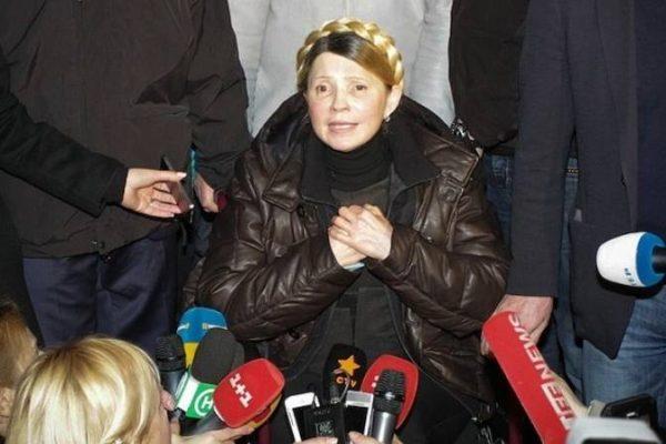Юлия Тимошенко после тюрьмы