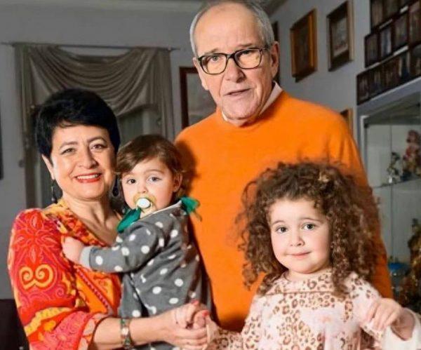 Эмануилл Виторган с семьей