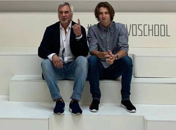 Валерий Меладзе и сын Константин