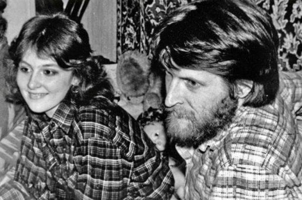 Никита Джигурда со своей первой женой Мариной Есипенко