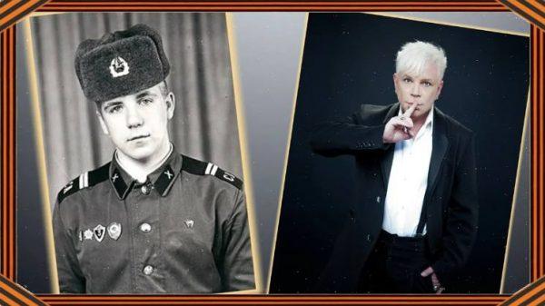 Борис Моисеев в армейские годы