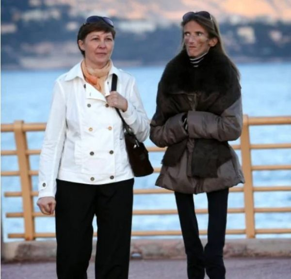 Валерия Левитина с мамой