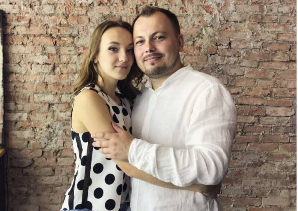 Ярослав Сумишевский с дочерью