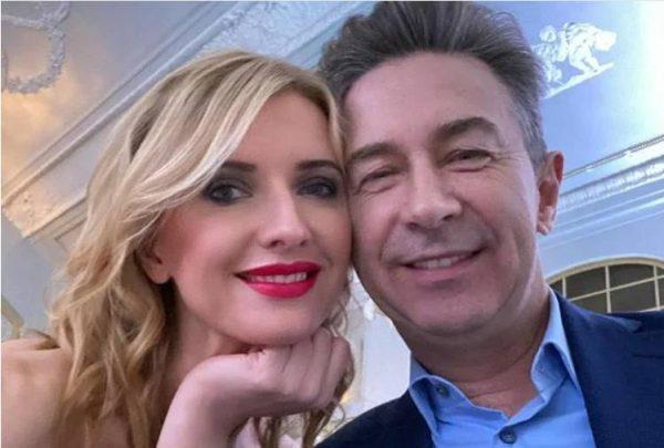 Валерий Сюткин с женой