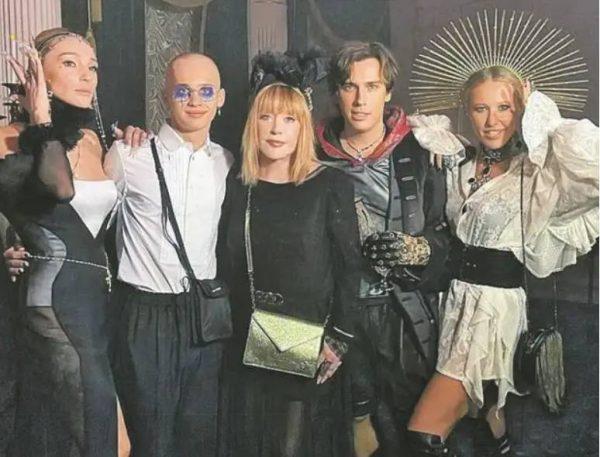 Гости Насти Ивлеевой