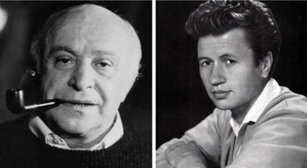 Леонид Быков и Роман Быков