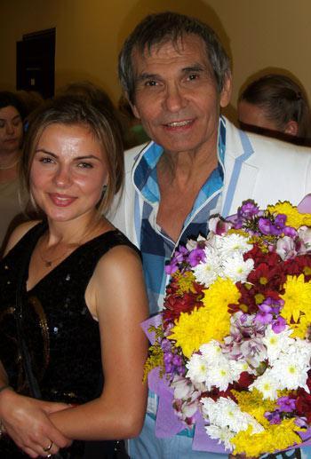 Оля Прейда и Бари Алибасов