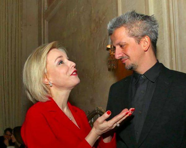 Марина Зудина и Константин Богомолов