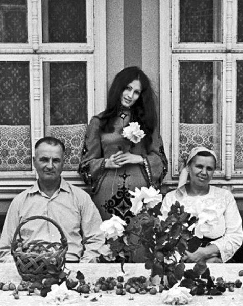 София Ротару с родителями