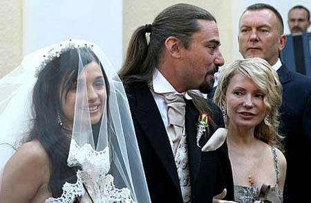 Тимошенко на свадьбе дочери