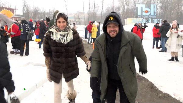 Алексей и Лейсан с Федей, кадри из программы «Ты не поверишь!»