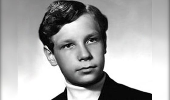 Борис Моисеева в школьные годы