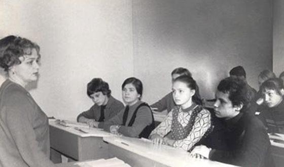 Школьное фото Бориса Моисеева