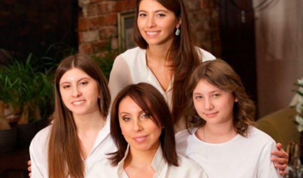 Первая жена и три дочки Валерия Меладзе