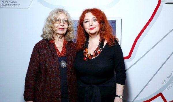 Мария Арбатова с мамой Цивьей Ильиничной Айзенштадт