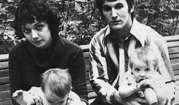 Мария Арбатова с первым мужем