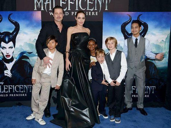 Дети дадут показания... Анджелина Джоли докажет насилие со стороны Брэда Питта