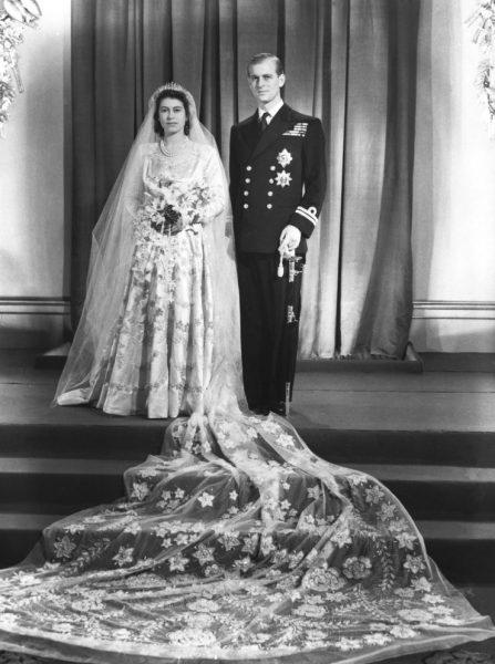 Свадебное платье Елизаветы
