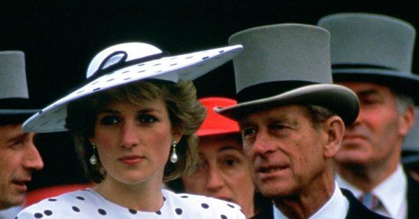 Принц Филипп с невесткой