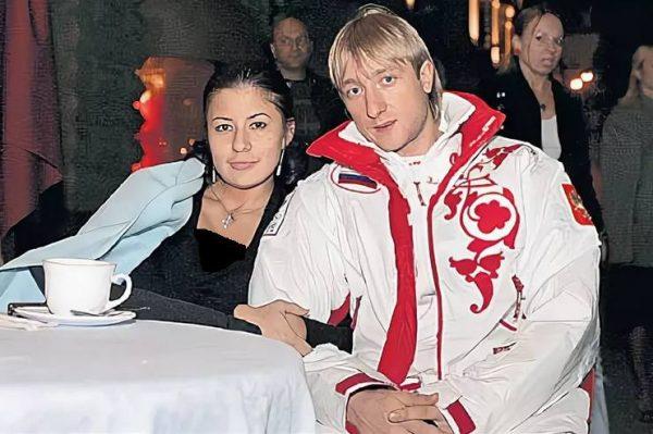 Евгений Плющенко и Мария Ермак