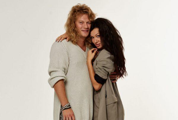 Роман Архипов с женой