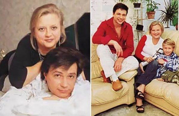 Владимир Асимов с семьей