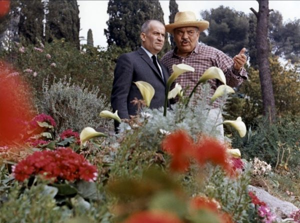 Влюбленный в розы Луи де Фюнес - редкие фото актера
